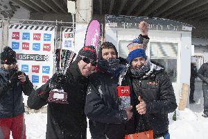 Xevi Pons i PCR Sport guanyadors de les GSeries BPA 2013.