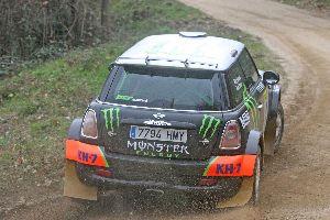 Triomf de Nani Roma-Barceló al volant del Mini Cooper Countryman de PCR Sport.