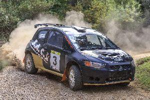 Segona posició per Domenech-Sánchez (Mitsubishi Colt-PCR Sport) en el Ral·li La Terrissa.