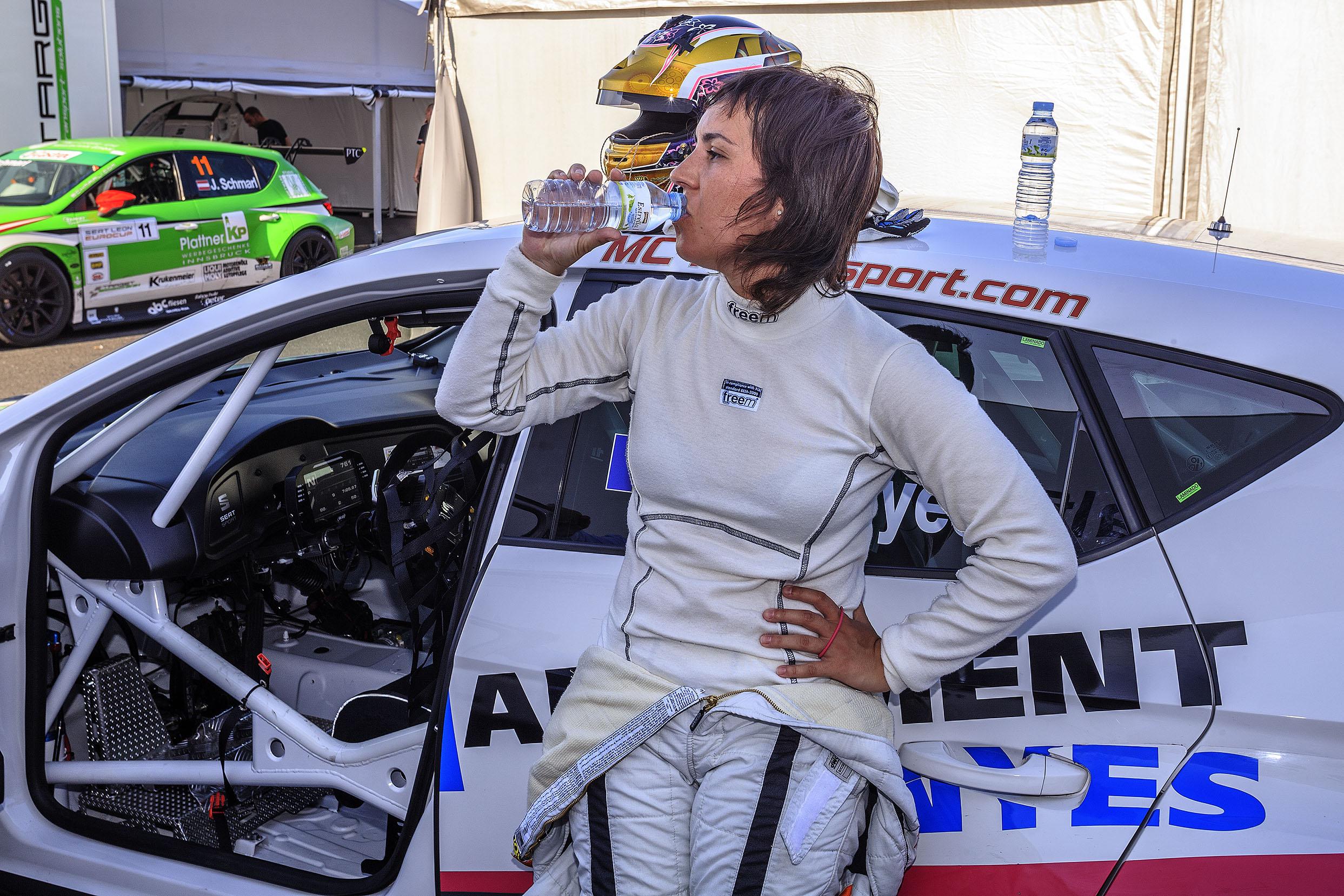 Amàlia i Joan Vinyes rivals en la graella de l'EUROCUP Seat León de Spa-Francorchamps.