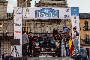Roma-Haro (Mini Cooper PCR Sport), prop del triomf al Bierzo. Miquel Prat (Colt Proto) tercer a ....