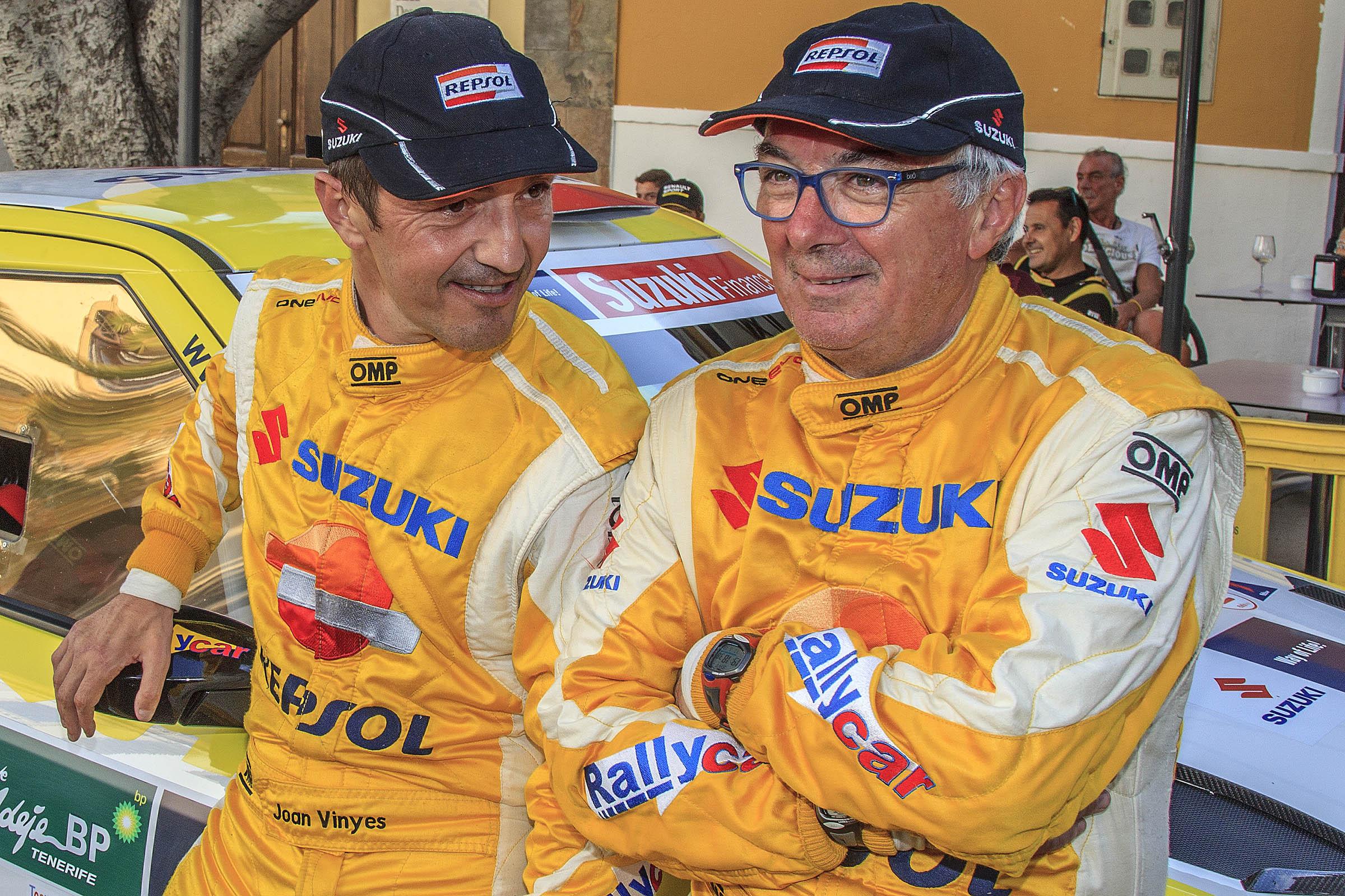 Vinyes-Mercader afronten amb la motivació de sempre, un Rallye de Ferrol amb canvis