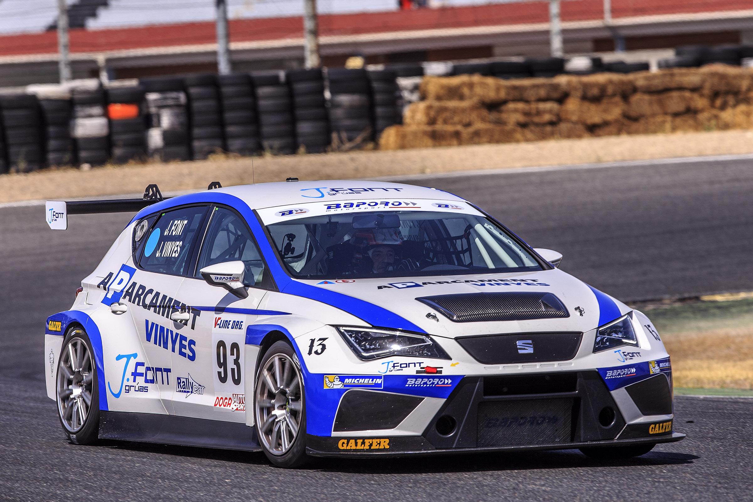 Vinyes-Font a recuperar el liderat del CER17, en el Circuit Barcelona-Catalunya