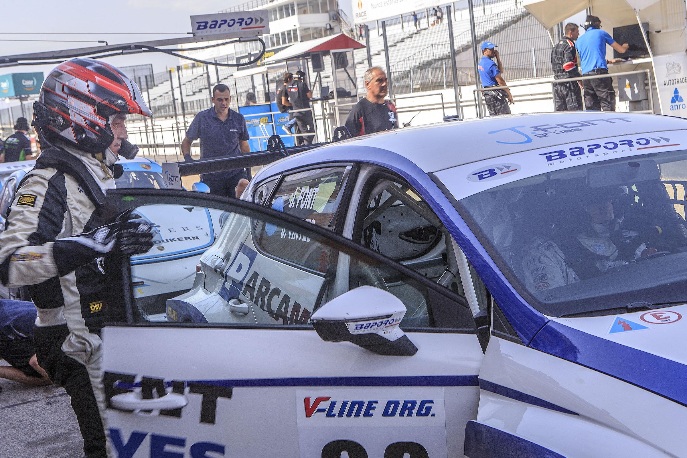Vinyes-Font es jugaran el títol del CER 2017, en el Circuit de Navarra