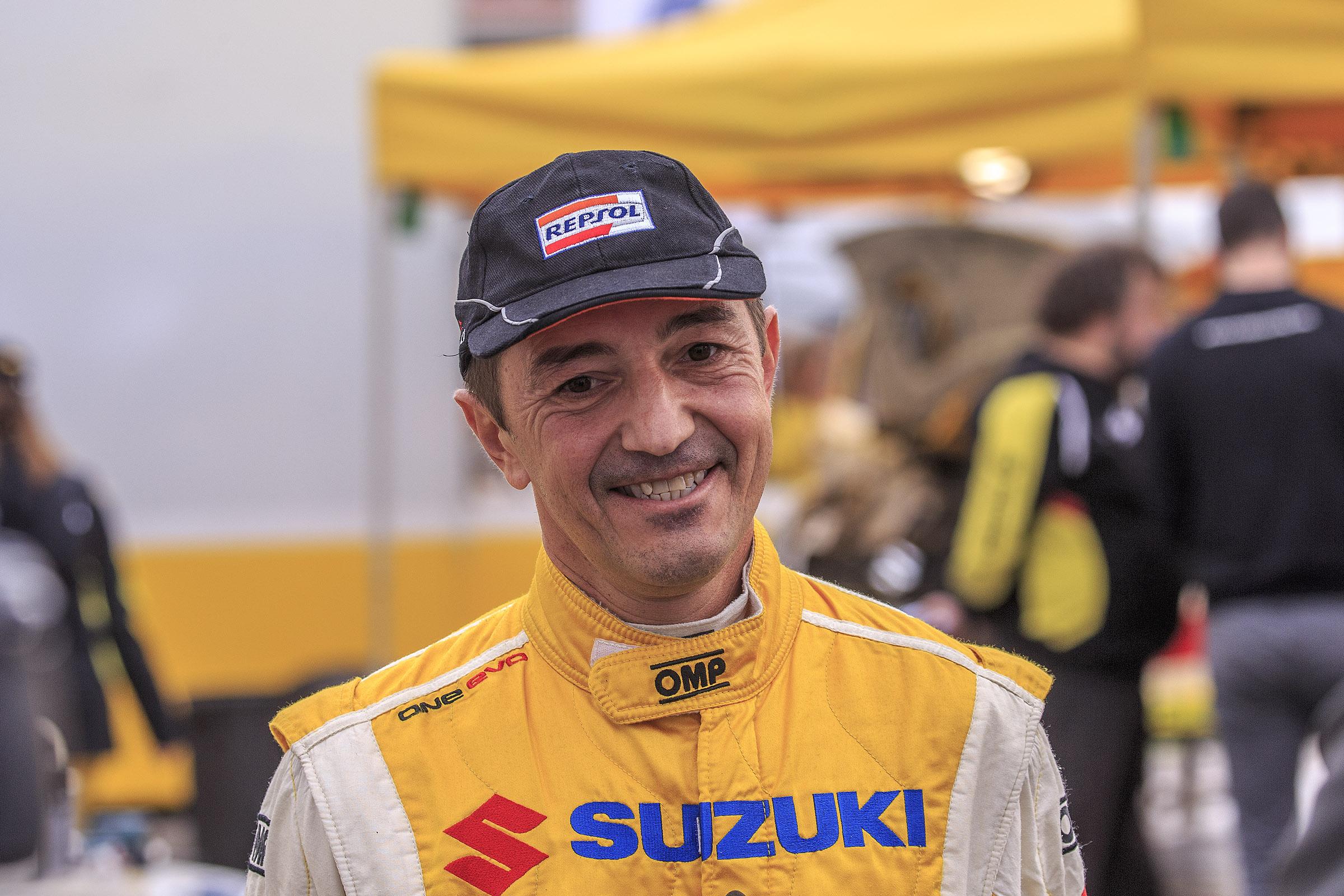 El CAM - RACE sigue siendo gafe para Joan Vinyes - Jordi Mercader