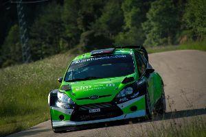 Esperançador debut del Ford Fiesta RS WRC d'Albert Orriols