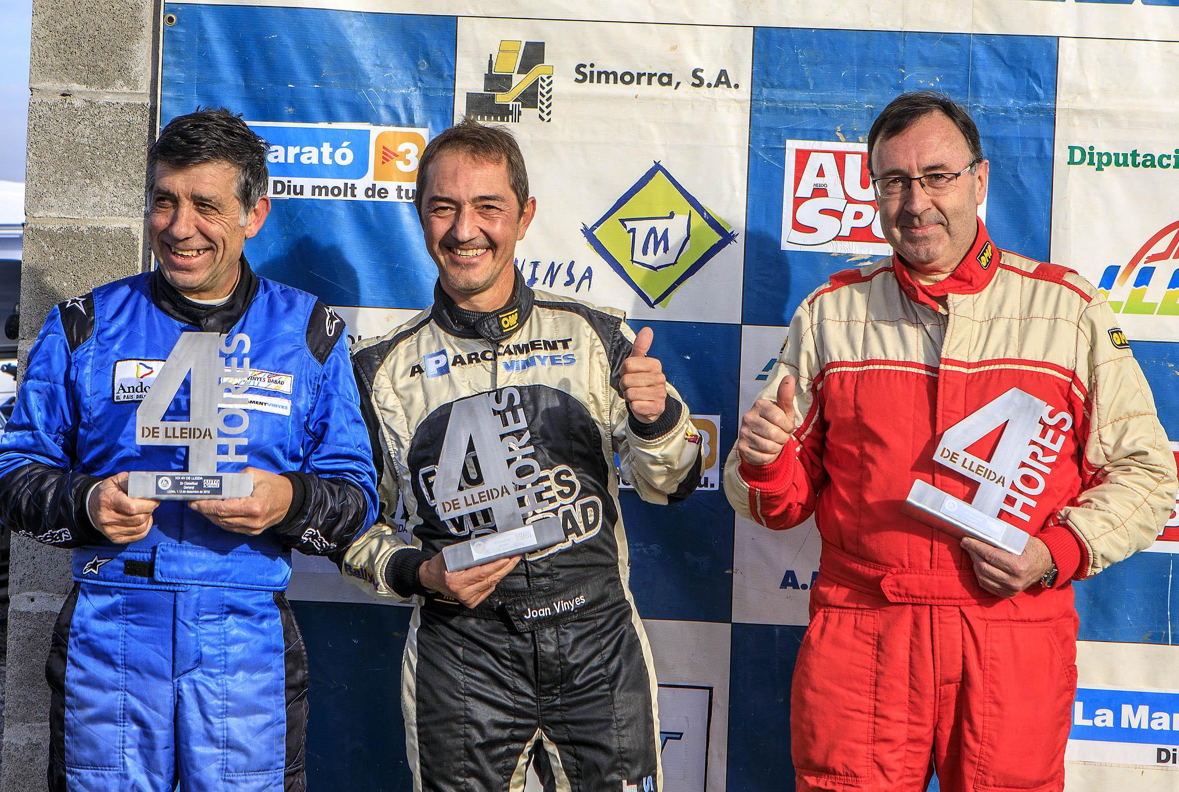A Lleida, Guillamet-Caminal-Vinyes molt a prop del triomf absolut