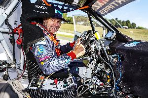 Albert Llovera aconsegueix estar en semifinals en el Rallycross de Barcelona RX2