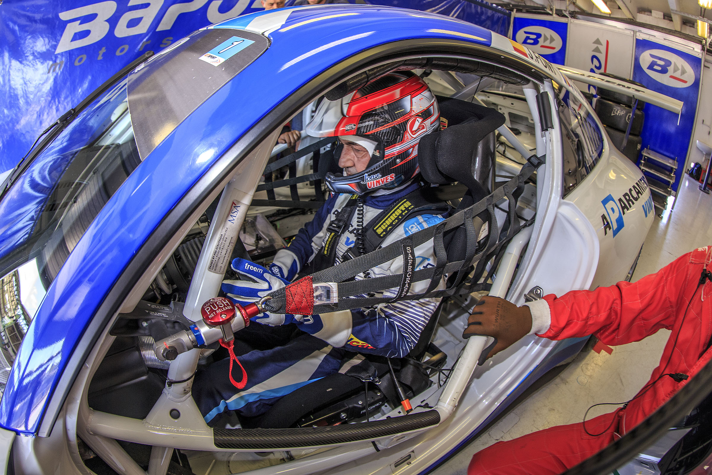 Silverstone, cita imminent per a Joan Vinyes-Jaume Font i el seu Porsche GT3