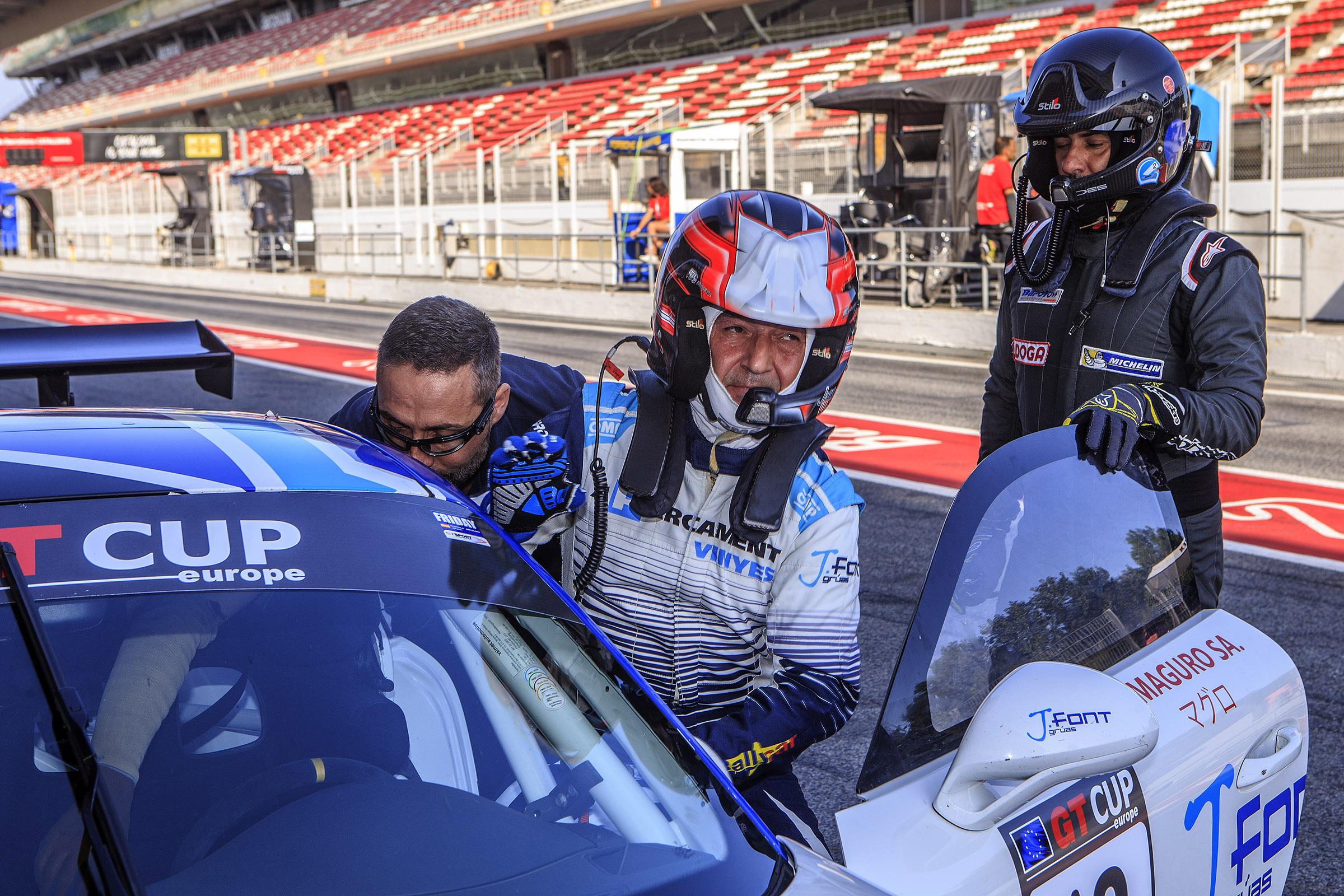 Els 500 km d'Alcanyís, última cursa del 2019 per a Vinyes-Font (Porsche GT3)