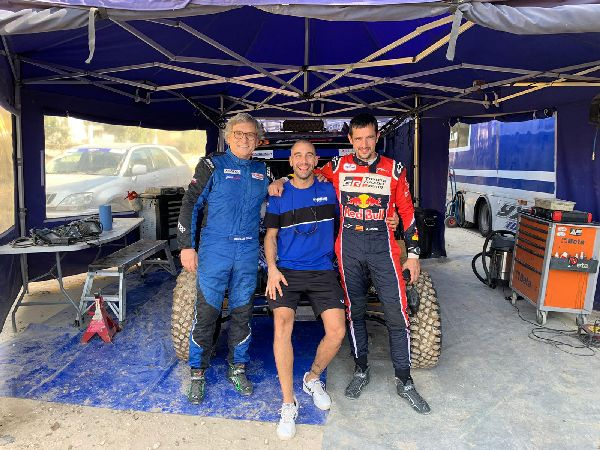 José Luis García exhibeix el seu caràcter competitiu en un Andalucía Rally molt dur