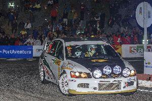 Parés-Orihuela compleixen amb les seves expectatives en el RallyRacc 2013.