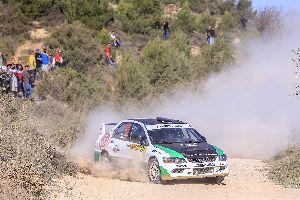 Regust amarg al final del 50 RallyRACC per Parés-Sabater.