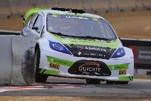 Albert Llovera torna amb força al Mundial de Rallycross