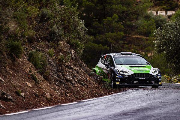 Positiva experiència d´Albert Orriols al Rallye de la Nucía.
