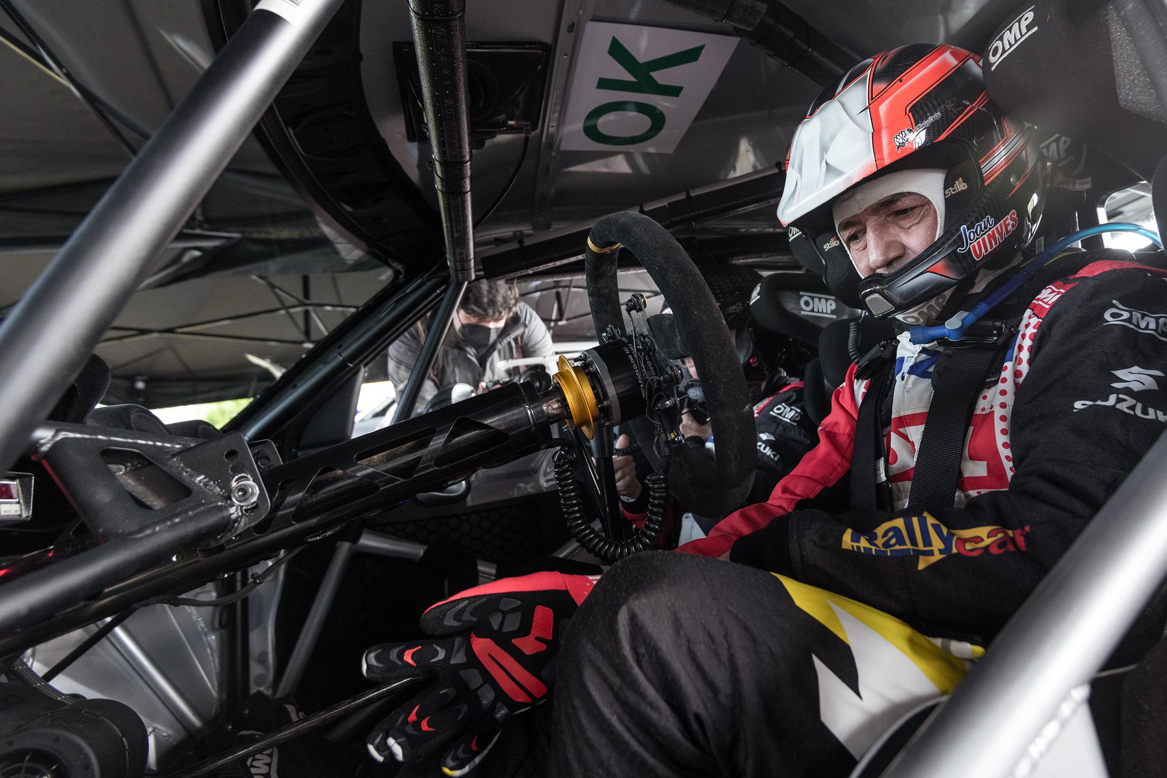 Vinyes - Mercader (Suzuki Swift R4lly S) començaran a competir a Còrdova.