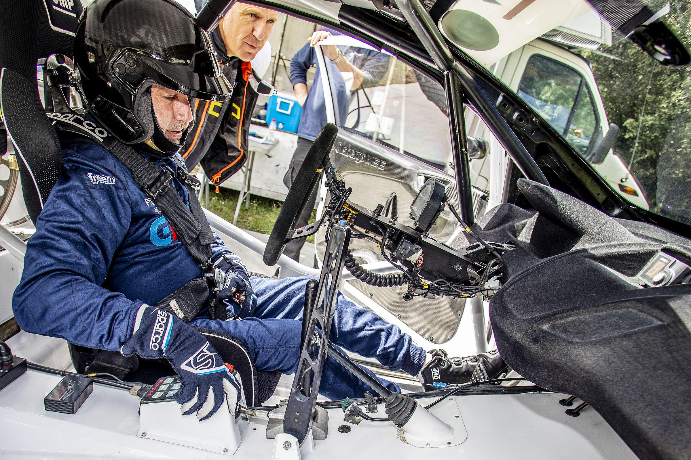 Gerard de la Casa sense sort en el debut amb el Ford Fiesta ST.