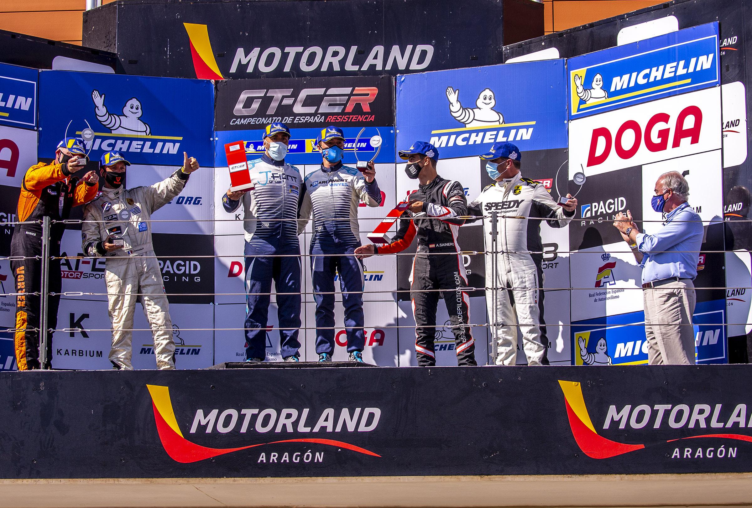Primer triomf per a Joan Vinyes i Jaume Font en el  en el GT-CER 2021