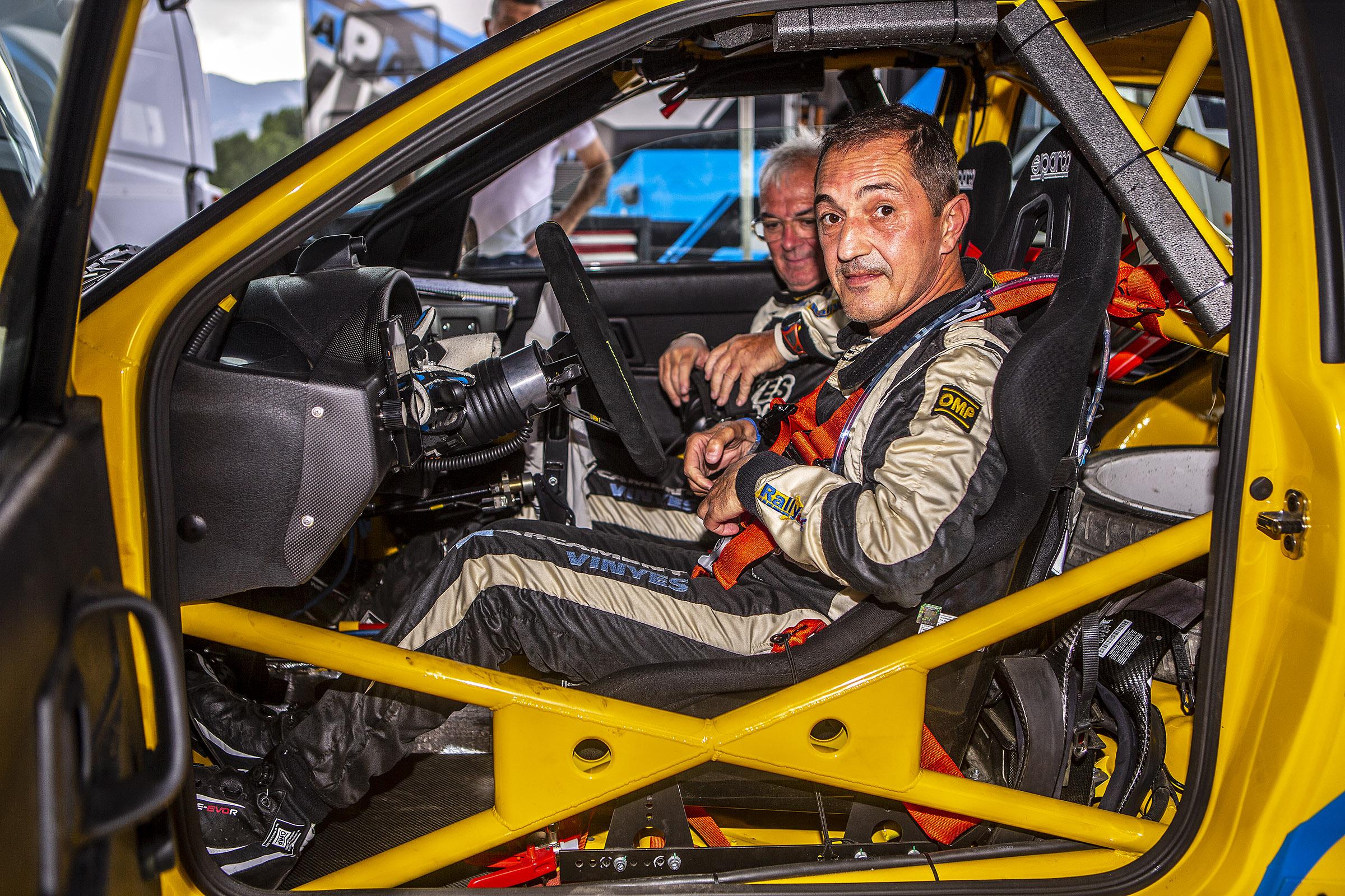 El Rallye Rías Altas 2021 canvi de chip per Joan Vinyes - Jordi Mercader (Seat Ibiza kit car)
