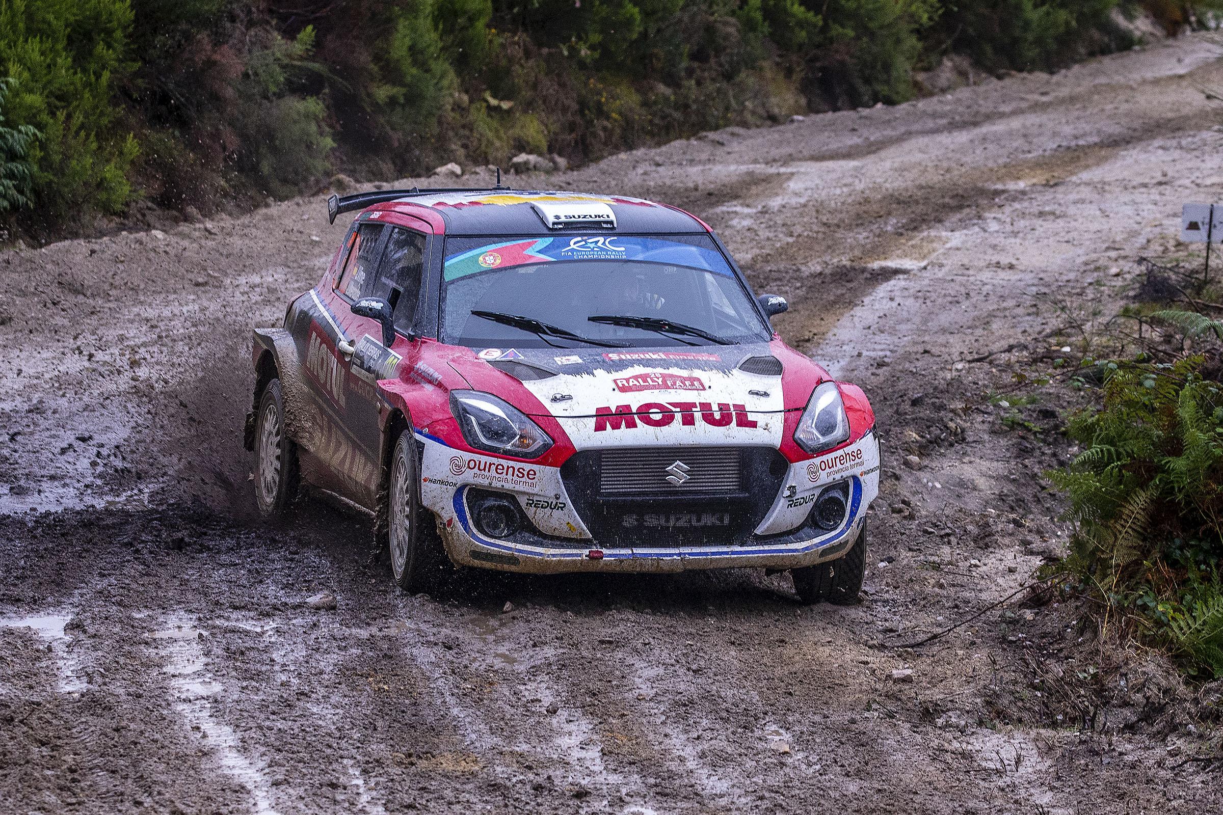 Joan Vinyes - Jordi Mercader (Suzuki Swift R4lly) sigueixen sumant a la provisional de l'ERC2 2021